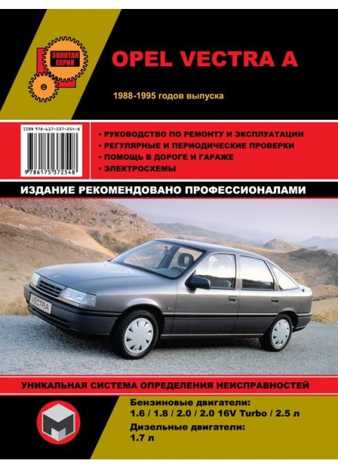 Книга: Opel Vectra A (Опель Вектра А). Руководство по ремонту, инструкция по эксплуатации. Модели с 1988 по 1995 год выпуска, оборудованные бензиновыми и дизельными двигателями